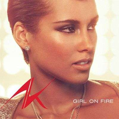 Coverafbeelding Girl On Fire - Alicia Keys