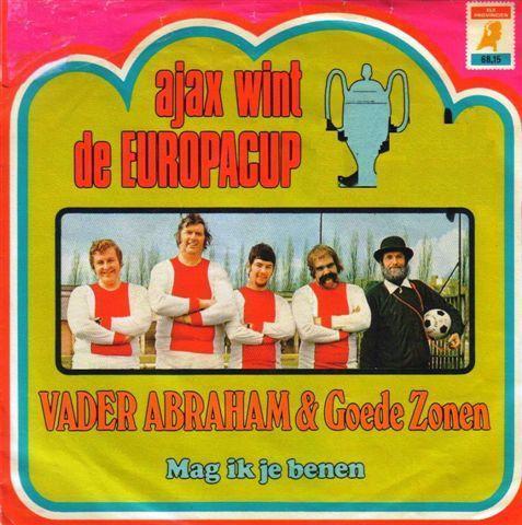 Coverafbeelding Ajax Wint De Europacup - Vader Abraham & Goede Zonen