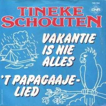 Coverafbeelding 't Papagaajelied - Tineke Schouten