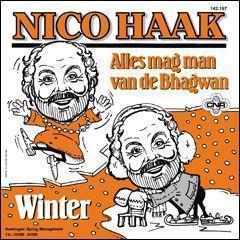 Coverafbeelding Alles Mag Man Van De Bhagwan/ Winter - Nico Haak