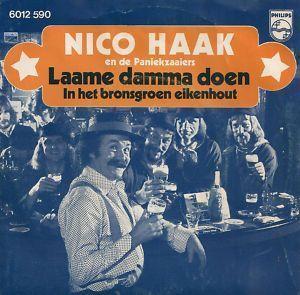 Coverafbeelding Laame Damma Doen - Nico Haak En De Paniekzaaiers