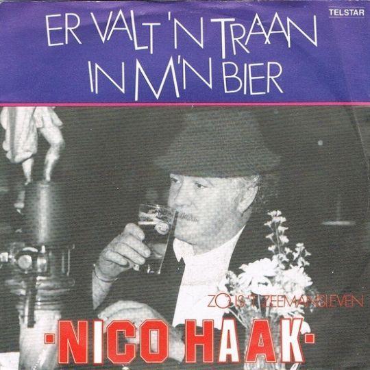 Coverafbeelding Er Valt 'n Traan In M'n Bier - Nico Haak