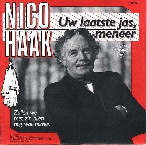 Coverafbeelding Uw Laatste Jas, Meneer - Nico Haak