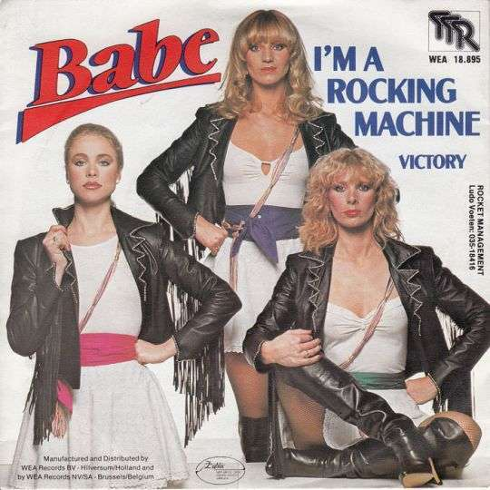 Coverafbeelding I'm A Rocking Machine - Babe