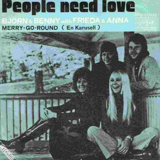 Coverafbeelding People Need Love - Bj�rn & Benny With Frieda & Anna