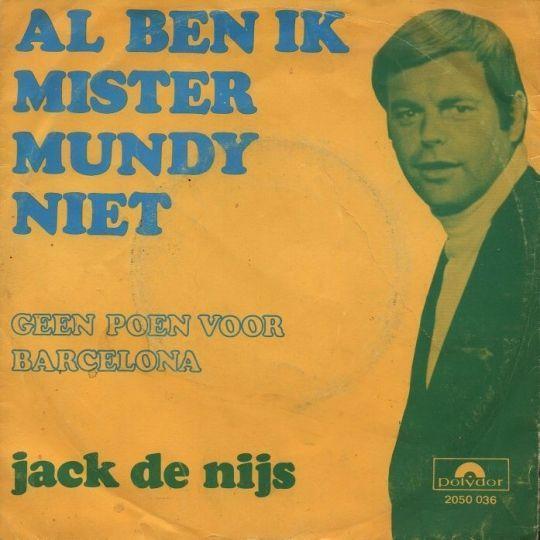 Coverafbeelding Al Ben Ik Mister Mundy Niet - Jack De Nijs