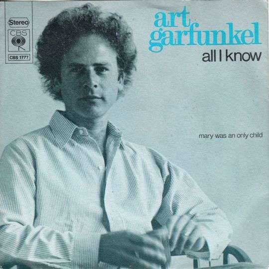 Coverafbeelding Art Garfunkel - All I Know