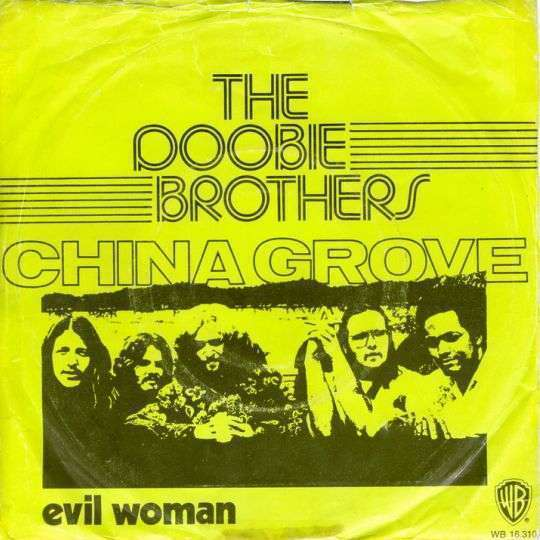 Coverafbeelding China Grove - The Doobie Brothers