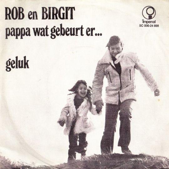 Coverafbeelding Pappa Wat Gebeurt Er... - Rob En Birgit
