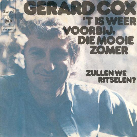 Coverafbeelding 't Is Weer Voorbij, Die Mooie Zomer - Gerard Cox