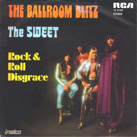 Coverafbeelding The Ballroom Blitz - The Sweet
