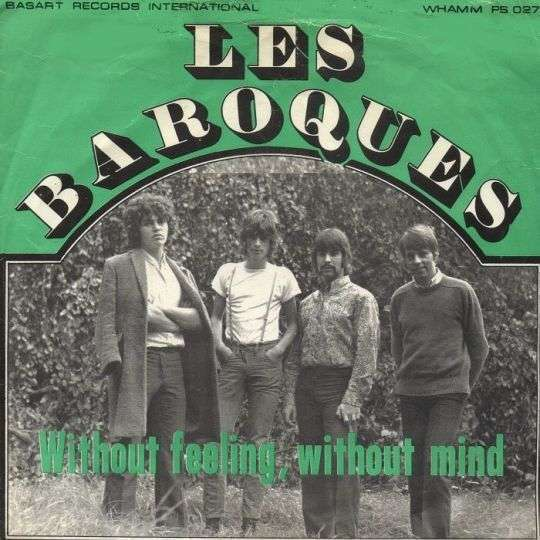 Coverafbeelding Without Feeling, Without Mind - Les Baroques