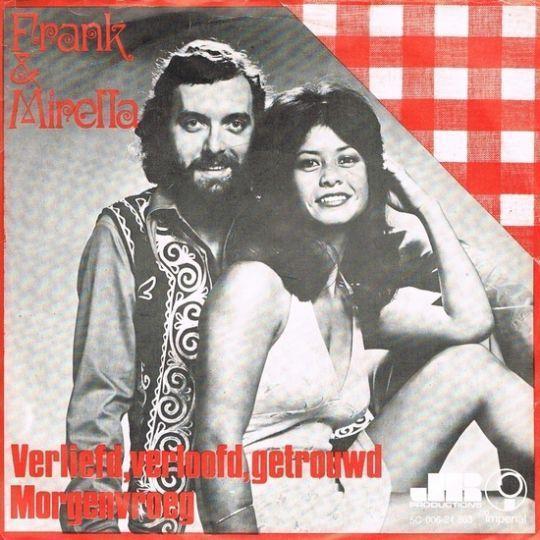 Coverafbeelding Verliefd, Verloofd, Getrouwd - Frank & Mirella