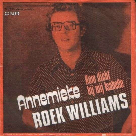 Coverafbeelding Annemieke - Roek Williams