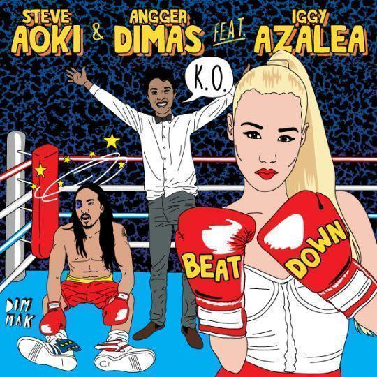 Coverafbeelding Beat Down - Steve Aoki & Angger Dimas Feat. Iggy Azalea