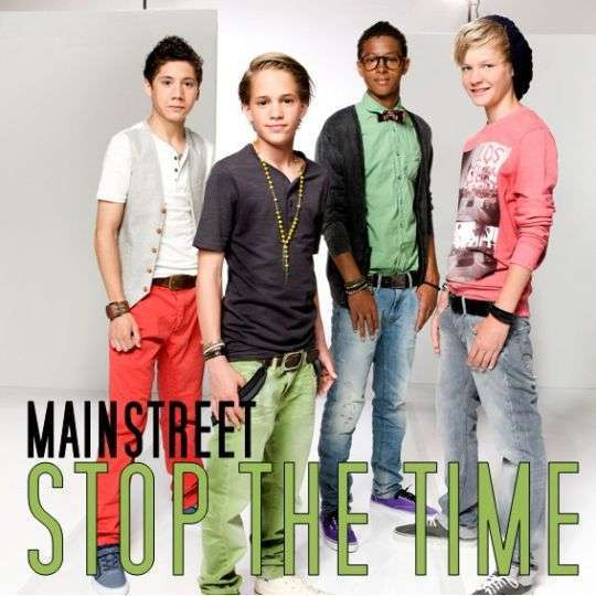 Coverafbeelding Stop The Time - Mainstreet