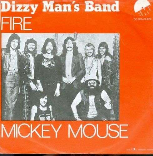 Coverafbeelding Fire - Dizzy Man's Band