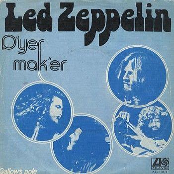 Coverafbeelding D'yer Mak'er - Led Zeppelin