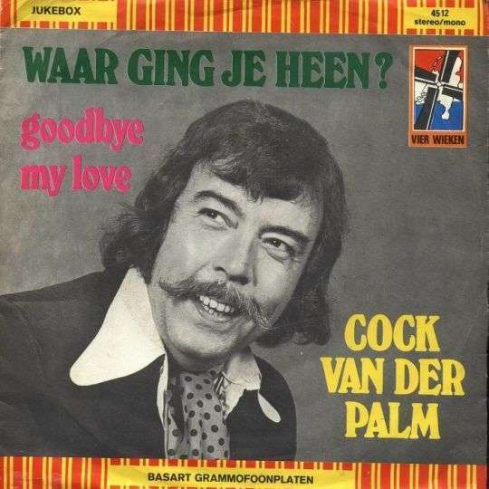 Coverafbeelding Cock Van Der Palm - Waar Ging Je Heen?