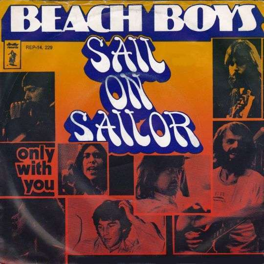 Coverafbeelding Sail On Sailor - Beach Boys