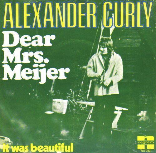 Coverafbeelding Dear Mrs. Meijer - Alexander Curly