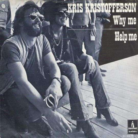 Coverafbeelding Why Me - Kris Kristofferson
