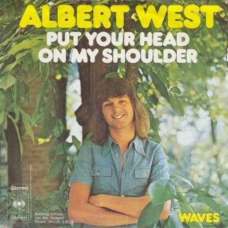 Coverafbeelding Put Your Head On My Shoulder - Albert West
