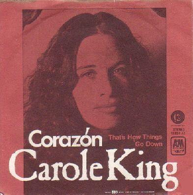 Coverafbeelding Coraz�n - Carole King