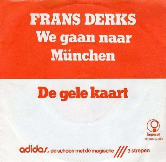 Coverafbeelding Frans Derks - We Gaan Naar München
