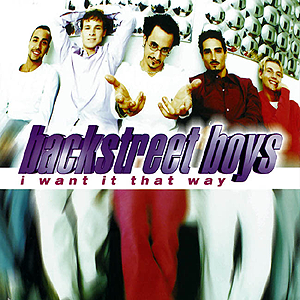 Coverafbeelding I Want It That Way - Backstreet Boys