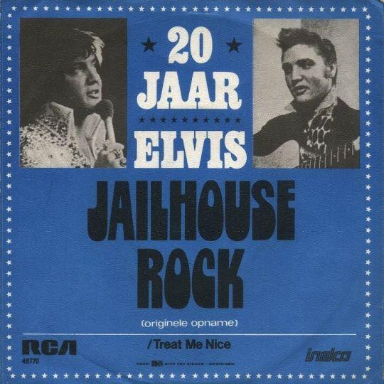 Coverafbeelding Jailhouse Rock - Elvis