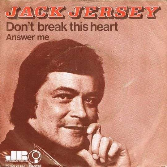 Coverafbeelding Don't Break This Heart - Jack Jersey