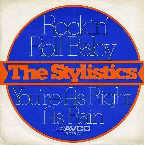 Coverafbeelding Rockin' Roll Baby - The Stylistics