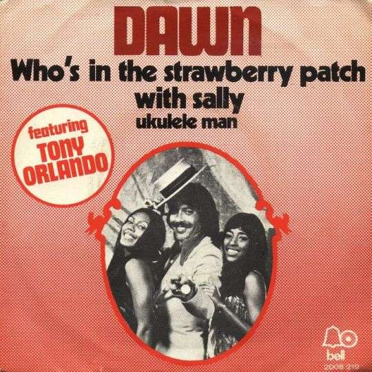 Coverafbeelding Who's In The Strawberry Patch With Sally - Dawn Featuring Tony Orlando