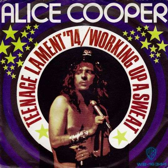 Coverafbeelding Alice Cooper - Teenage Lament '74