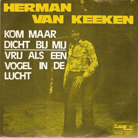 Coverafbeelding Kom Maar Dicht Bij Mij - Herman Van Keeken