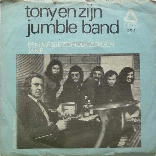 Coverafbeelding Tony en Zijn Jumble Band - Een Meisje Zonder Zorgen