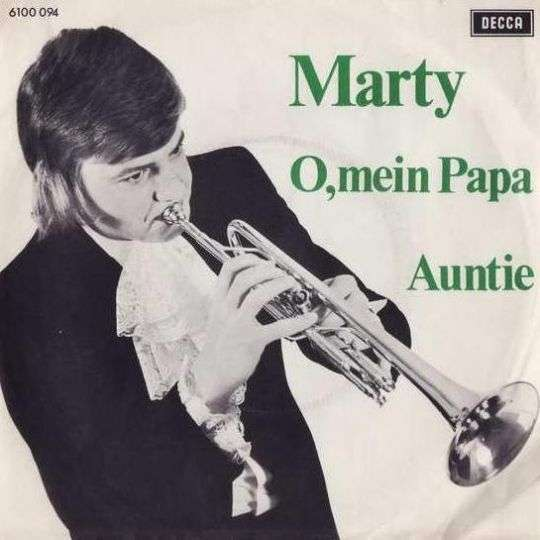 Coverafbeelding O, Mein Papa - Marty