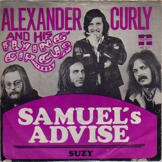 Coverafbeelding Samuel's Advise - Alexander Curly And His Flying Circus