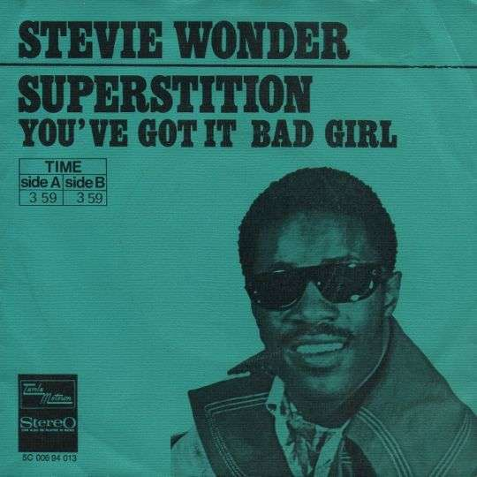 Coverafbeelding Superstition - Stevie Wonder