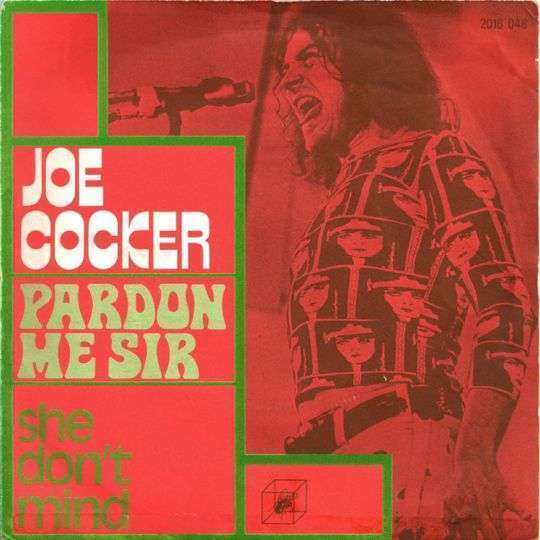 Coverafbeelding Pardon Me Sir - Joe Cocker