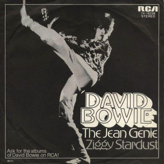 Coverafbeelding David Bowie - The Jean Genie
