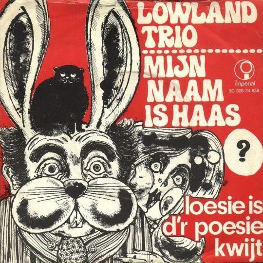 Coverafbeelding Mijn Naam Is Haas - Lowland Trio