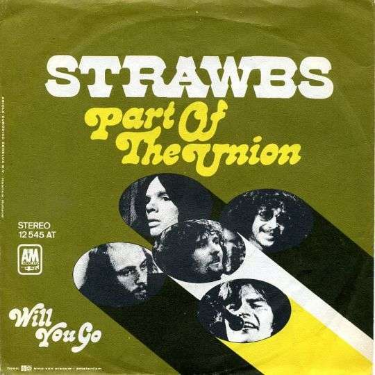 Coverafbeelding Strawbs - Part Of The Union