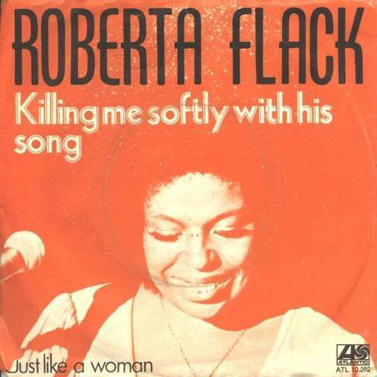 Coverafbeelding Roberta Flack - Killing Me Softly With His Song