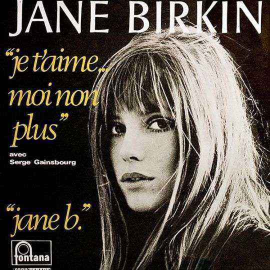 Coverafbeelding Jane Birkin avec Serge Gainsbourg - Je T'aime... Moi Non Plus / Je T'aime Moi Non Pl