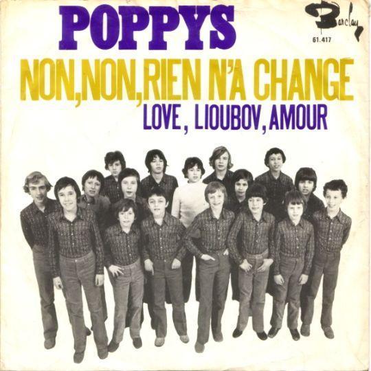 Coverafbeelding Non, Non, Rien N'a Chang� - Poppys