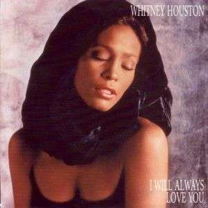 Coverafbeelding I Will Always Love You - Whitney Houston