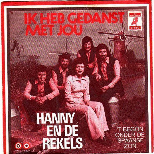 Coverafbeelding Ik Heb Gedanst Met Jou - Hanny En De Rekels
