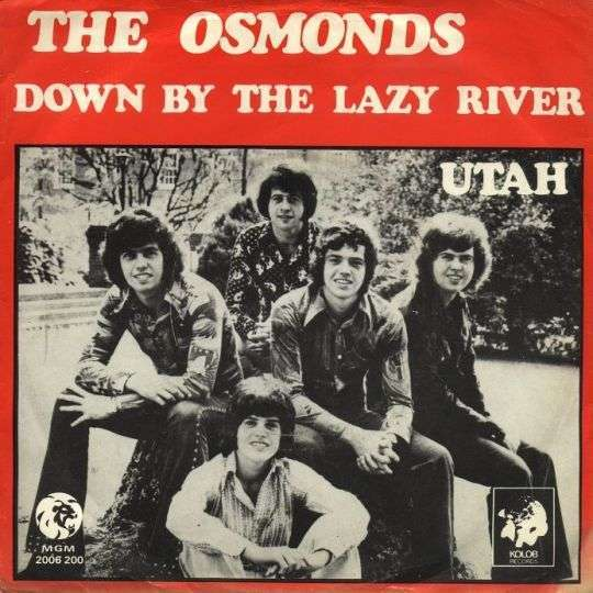 Coverafbeelding Down By The Lazy River - The Osmonds